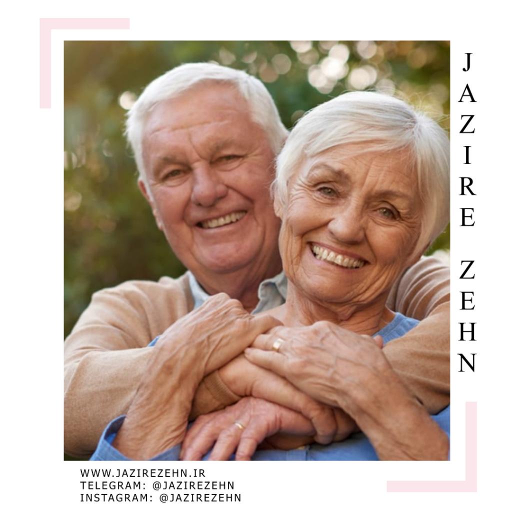 توزیع جمعیت در سالمندان | جزیره ذهن